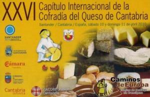 XXVI Capítulo Internacional de la Cofradía del Queso de Cantabria
